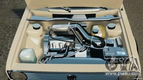 Volkswagen Golf Mk1 Stance for GTA 4 upper view