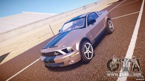 Shelby GT500kr for GTA 4