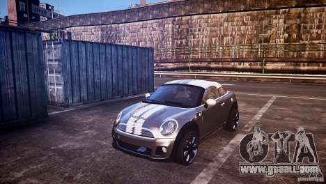 Mini Coupe Concept v0.5 for GTA 4