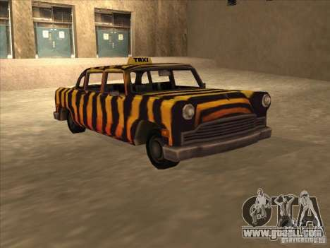 Zebra Cab from Vice City for GTA San Andreas