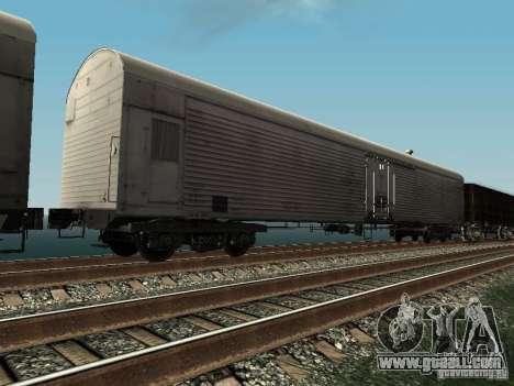 Refrežiratornyj wagon Dessau No. 3 for GTA San Andreas