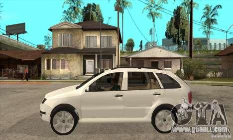 Skoda Fabia Combi for GTA San Andreas left view