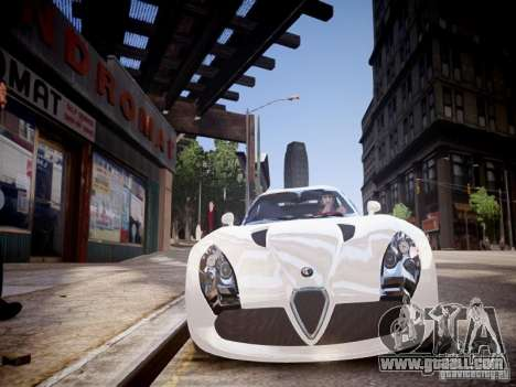 Alfa Romeo TZ3 Stradale Zagato for GTA 4 side view