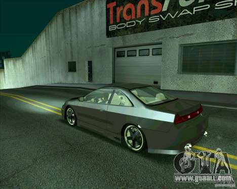 Honda Accord Tuning for GTA San Andreas right view