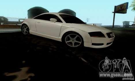 Audi TT for GTA San Andreas right view