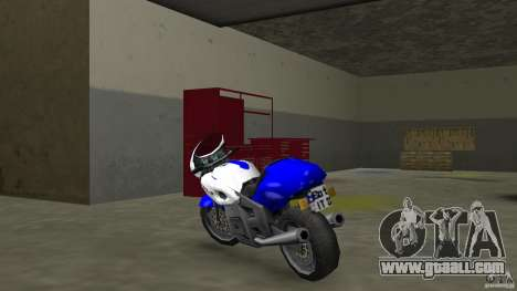 Suzuki GSX-R 600 beta 0.1 for GTA Vice City back left view