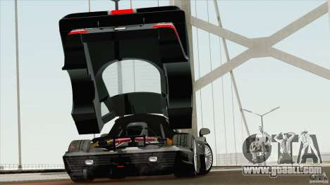 Mercedes-Benz CLK GTR Race Road Version Stock for GTA San Andreas