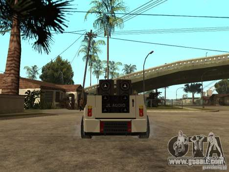Uaz Cabriolet for GTA San Andreas back left view