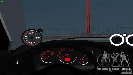 Mitsubishi Lancer Evolution 8 Drift for GTA San Andreas side view
