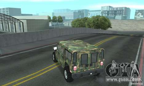 Hummer H1 for GTA San Andreas wheels
