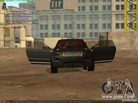 Land Rover Freelander for GTA San Andreas right view