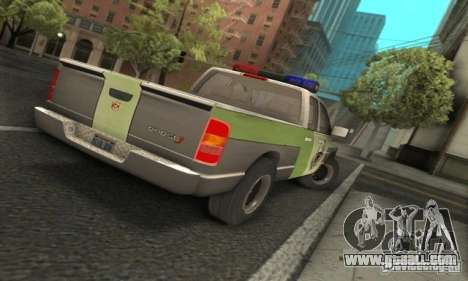 Dodge Ram 1500 POLICE 2008 for GTA San Andreas