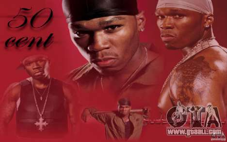 New loading screens 50 CENT for GTA San Andreas