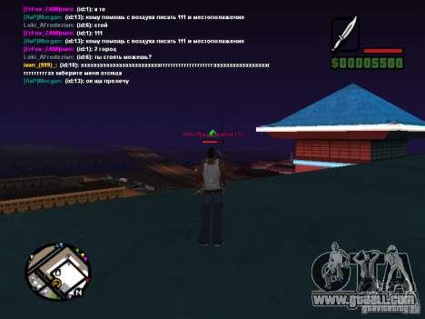 CLEO knife for GTA San Andreas second screenshot