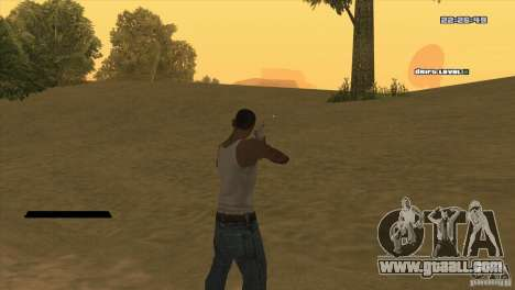 The point instead of the sight for GTA San Andreas second screenshot