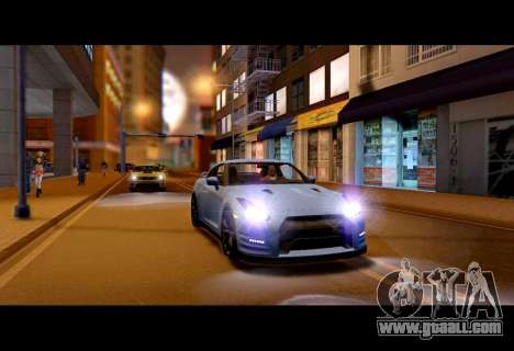Real World ENBSeries v5.0 Final for GTA San Andreas second screenshot