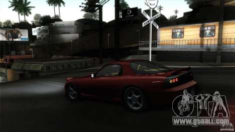 Mazda RX-7 FD 1991 for GTA San Andreas inner view