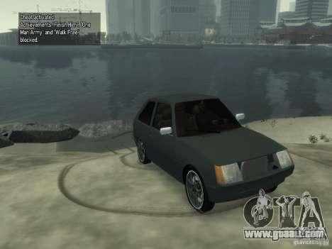 ZAZ 1102 Tavria for GTA 4 back left view