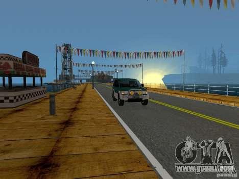 New Beach texture v2.0 for GTA San Andreas tenth screenshot