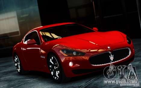 Maserati Gran Turismo S 2009 for GTA 4 back view