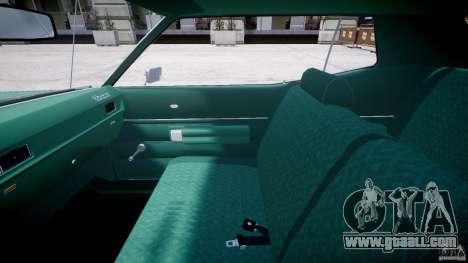 Mercury Monterey 2DR 1972 for GTA 4 back view