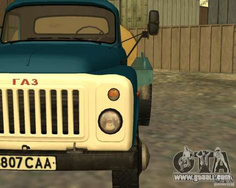 GAZ 53-12 TRUCK-3 for GTA San Andreas back view
