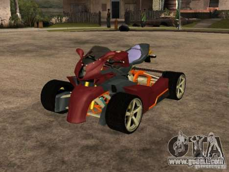 Quad MVAgusta for GTA San Andreas