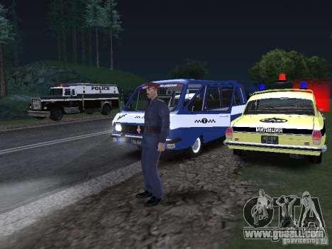 Police Post for GTA San Andreas forth screenshot