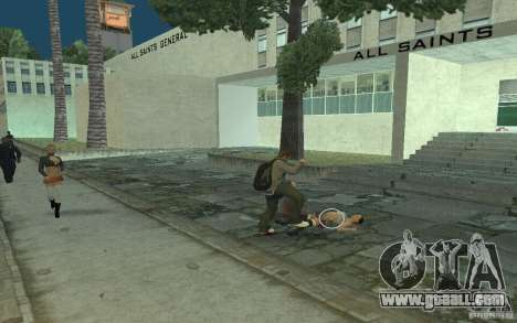Animation of GTA IV for GTA San Andreas eighth screenshot
