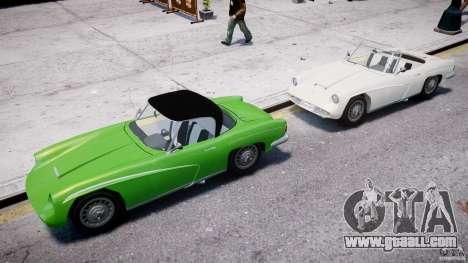 FSO Syrena Sport 1960 for GTA 4 bottom view