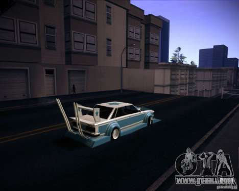 Toyota Cresta GX71 Bosozoku for GTA San Andreas left view