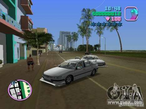 Peugeot 406 Taxi for GTA Vice City