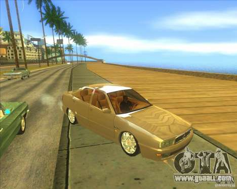 Maserati Quattroporte IV V8 3.2 for GTA San Andreas left view