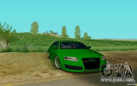 Audi RS6 OTIS for GTA San Andreas left view