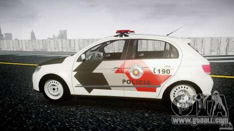 Volkswagen Gol G5 PMSP [ELS] for GTA 4 left view