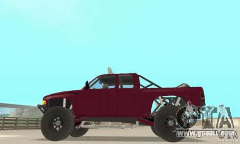 Dodge Ram Prerunner for GTA San Andreas right view