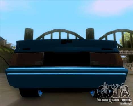 Mitsubishi Starion for GTA San Andreas side view