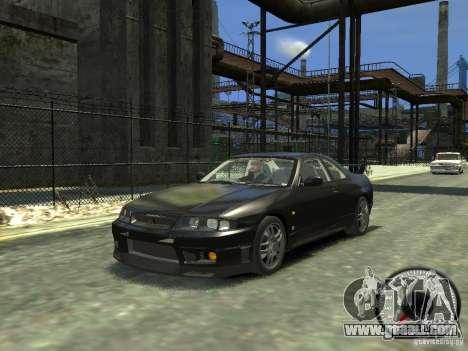 Nissan Skyline GT-R V-Spec (R33) 1997 for GTA 4