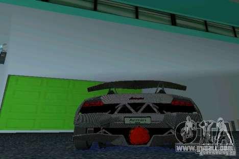 Lamborghini Sesto Elemento for GTA Vice City back left view
