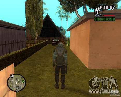 Stalker clear sky from for GTA San Andreas third screenshot