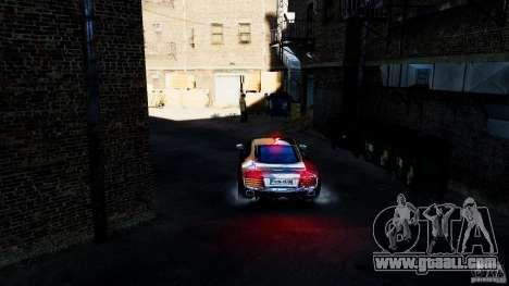 Audi R8 Spider 2011 for GTA 4 inner view
