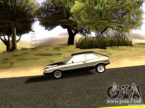 Volkswagen Scirocco Mk1 for GTA San Andreas left view