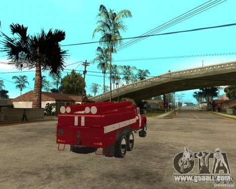 ZIL 133GÂ AC fire for GTA San Andreas back left view
