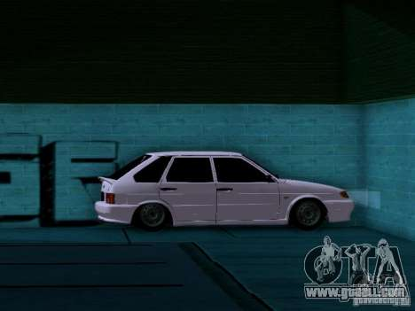 ВАЗ 2114 for GTA San Andreas upper view