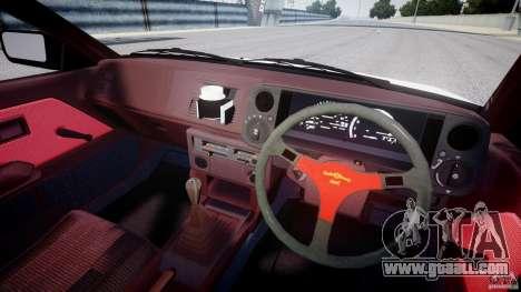 Toyota Trueno AE86 Initial D for GTA 4 back view