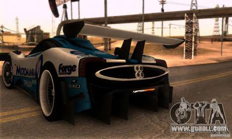 Pagani Zonda R for GTA San Andreas right view