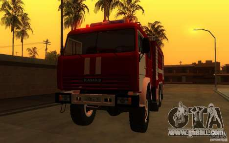 KAMAZ 43118 AC-7, 0-40 for GTA San Andreas back left view
