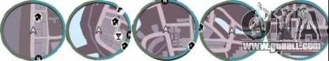Radar from GTA IV for GTA Vice City