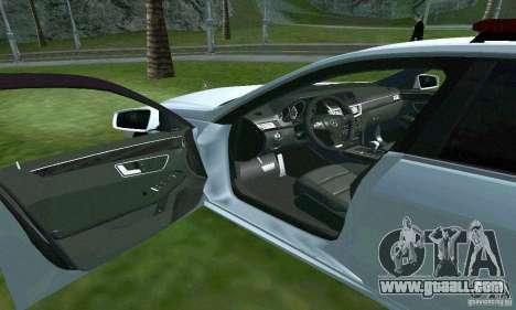 Mercedes-Benz E63 DPS for GTA San Andreas upper view