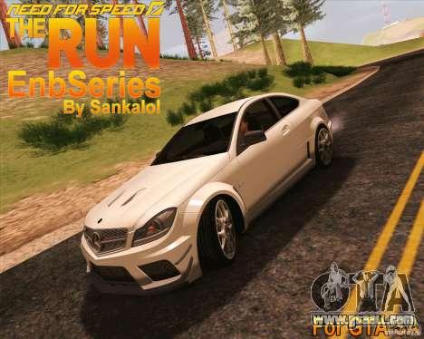 NFS The Run ENBSeries by Sankalol for GTA San Andreas